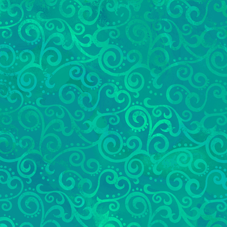 Ombre scroll - Jade