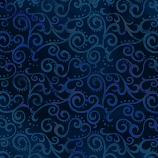 Ombre scroll - Navy